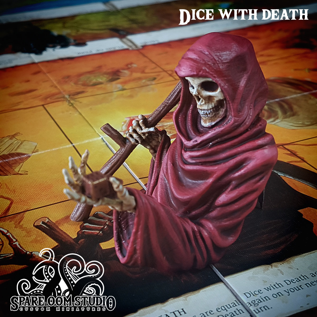 Talisman Dice with Death DIGITAL DOWNLOAD