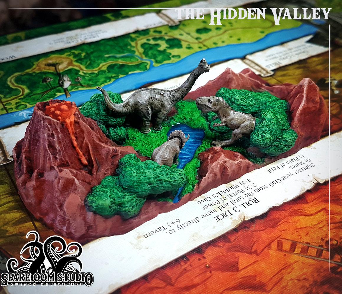 Talisman The Hidden Valley 3D PRINT