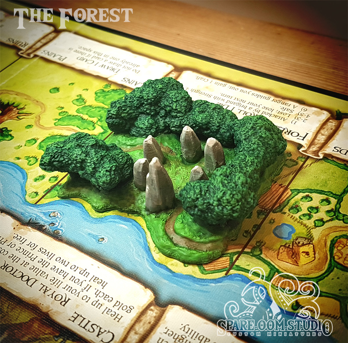 Talisman The Forest 3D Print