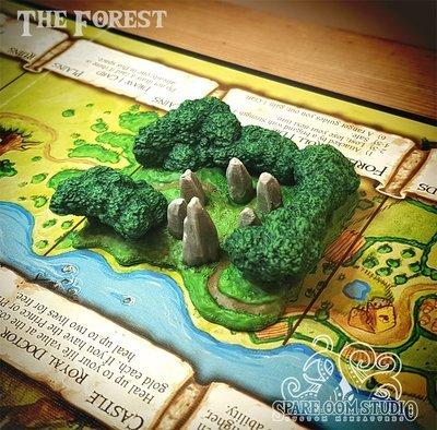Talisman The Forest STL DIGITAL DOWNLOAD