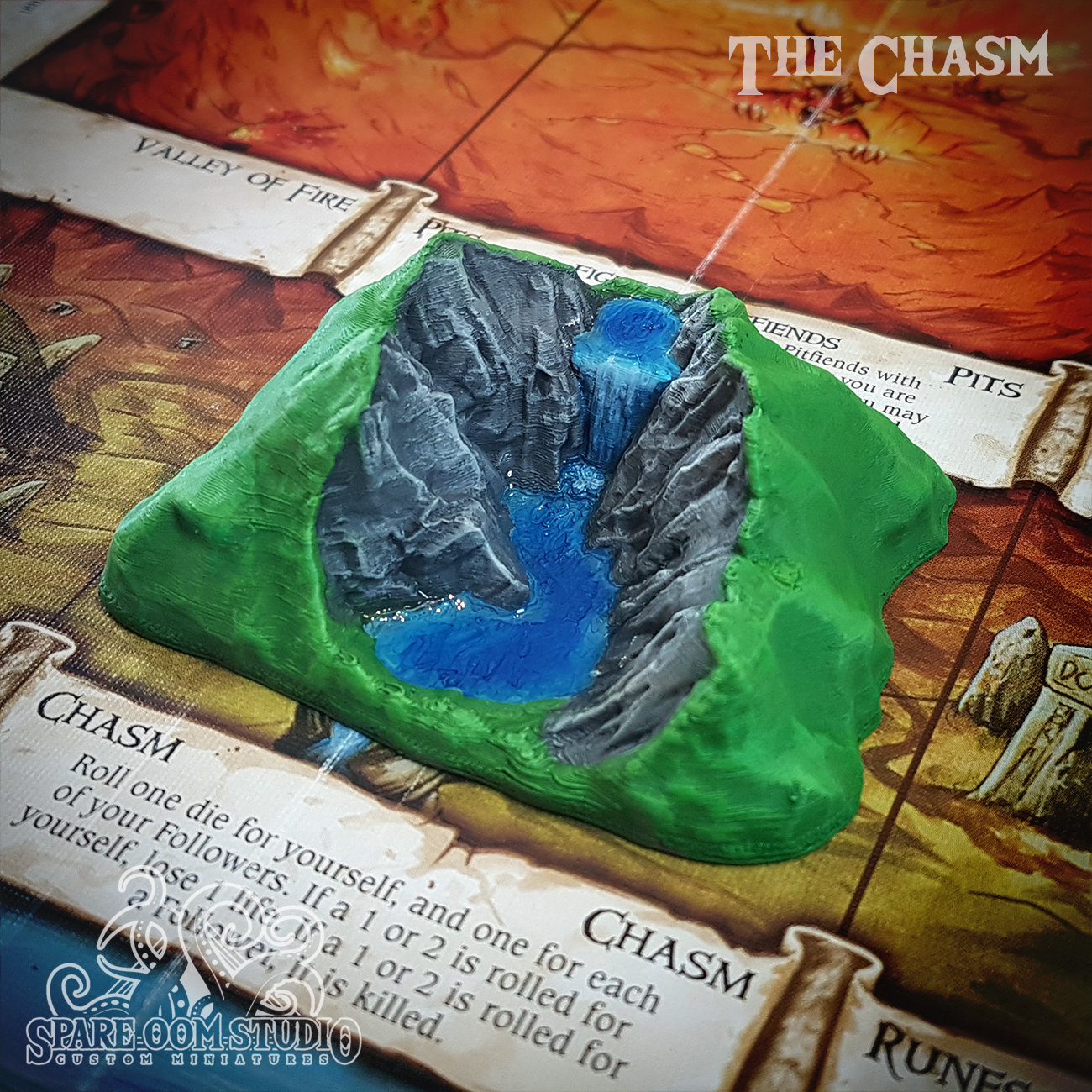 Talisman The Chasm STL DIGITAL DOWNLOAD