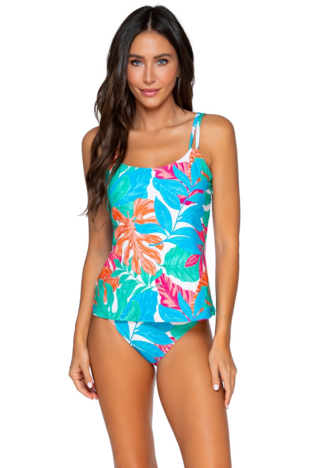 Sunsets Taylor Tankini Tropicalia D-H Cups