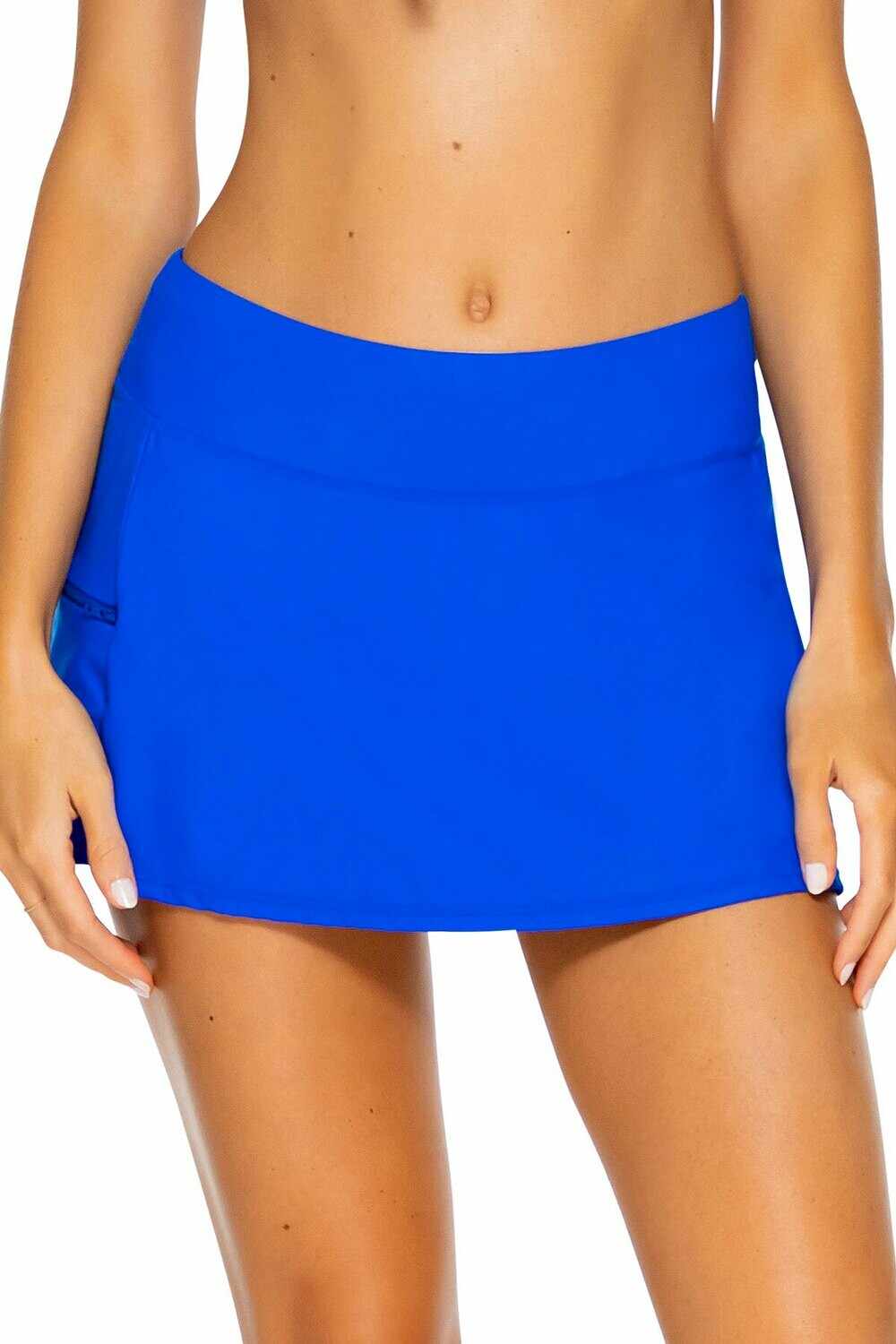 Sunsets Sporty Swim Skirt Imperial Blue