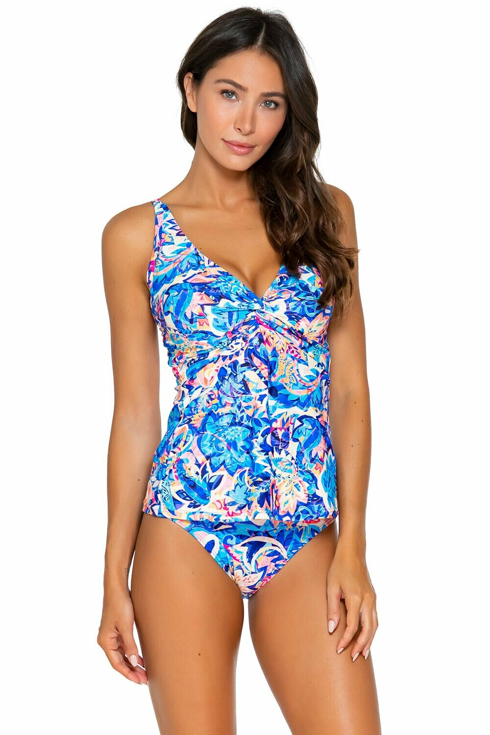 Sunsets Forever D-H Cup Tankini Gypsy Breeze