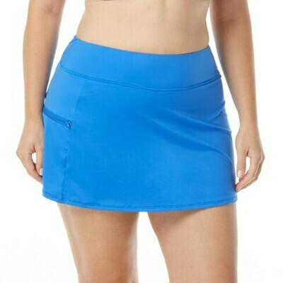 Beach House Emma Pull On Skort Lapis