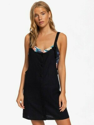 Roxy Swing Low Dungaree Dress