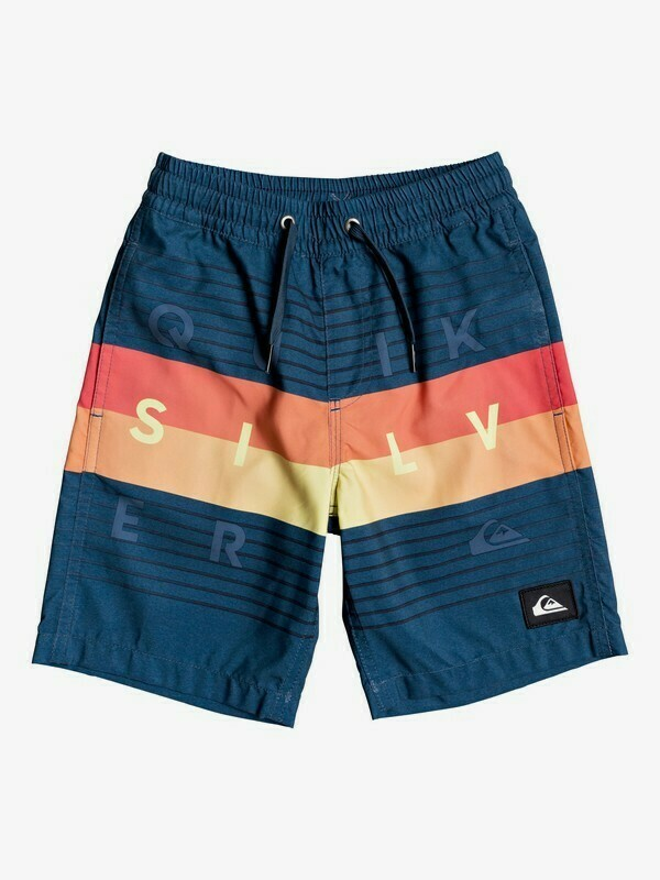 Quiksilver Word Block Volley Youth 2T-7