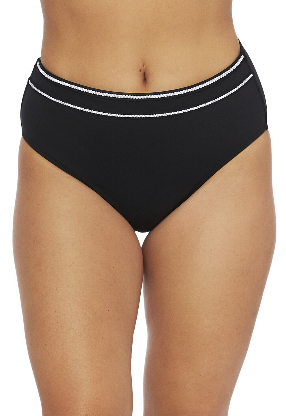 La Blanca Zig Zag High Waist Bottom