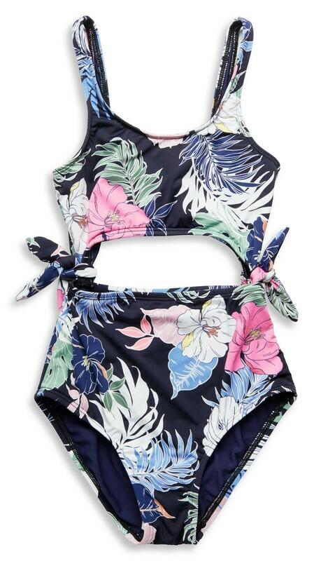 Hobie Hawaiian Tropics Cutout 1pc Girls 7-16