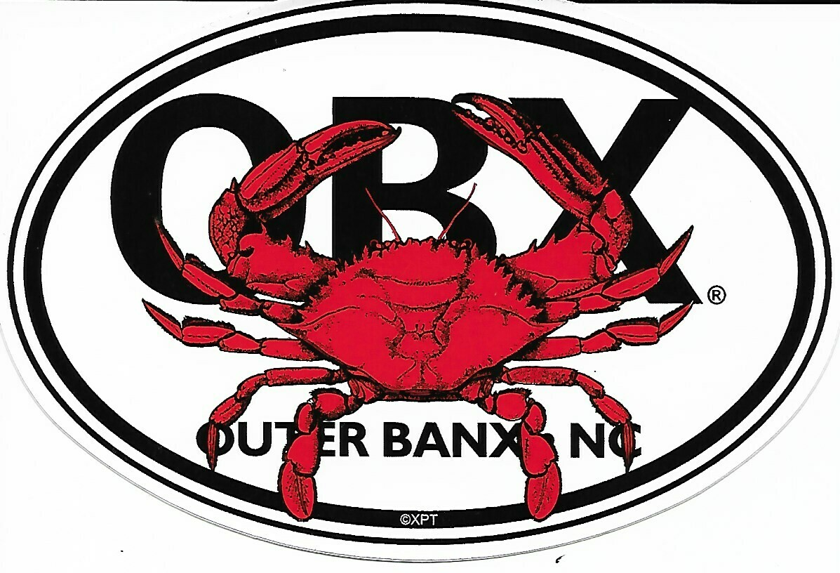OBX Crab Sticker
