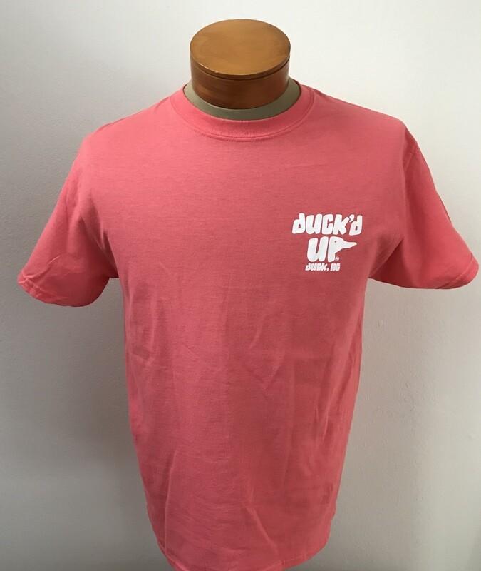 Duck'd Up Short Sleeve T-Shirt -CORAL