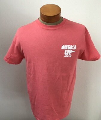 Duck'd Up Short Sleeve T-Shirt -CORAL