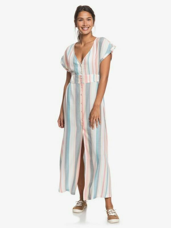 Roxy Furore Lagoon Short Sleeve Maxi Dress