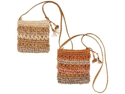 Cappelli Cross Body Straw Bag