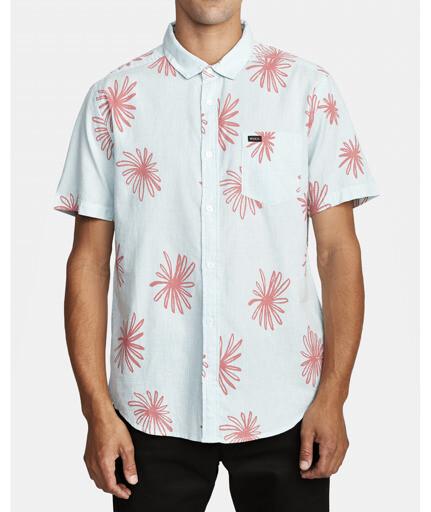 RVCA Whirl Short Sleeve Shirt