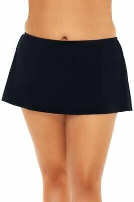 Sunsets Island Time Swim Skirt Black