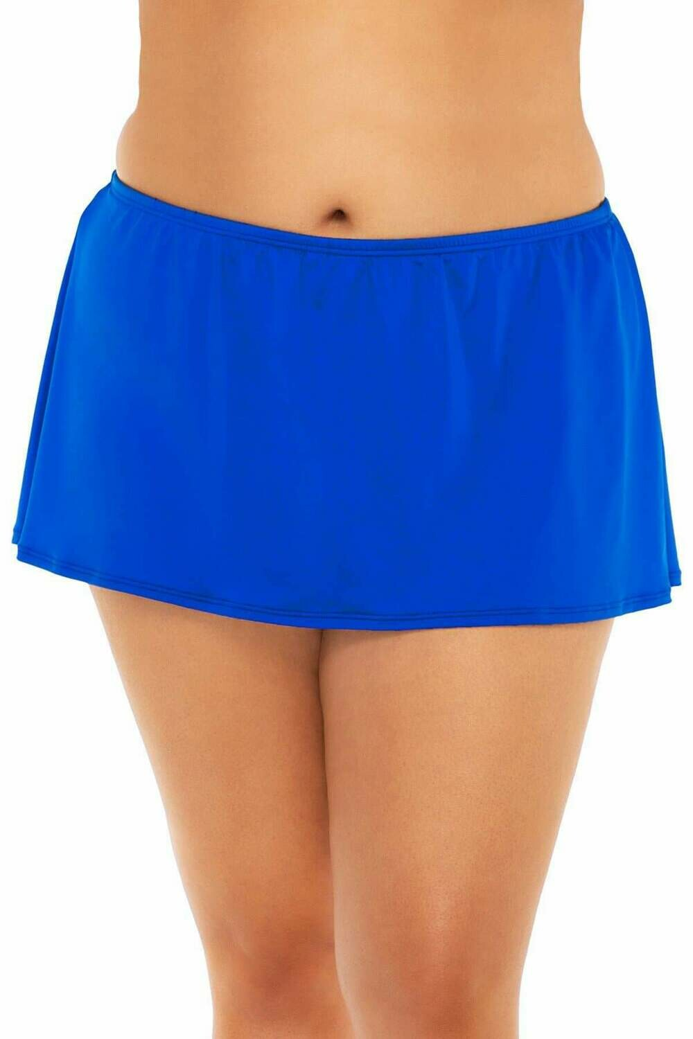 Sunsets Island Time Swim Skirt Imperial Blue