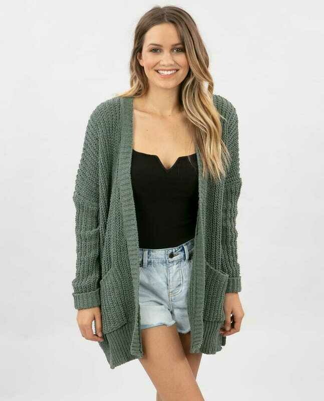 Rip Curl Safari Sun Cardigan Green