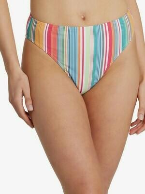 Roxy Mexi Stripe High Waist Bottom