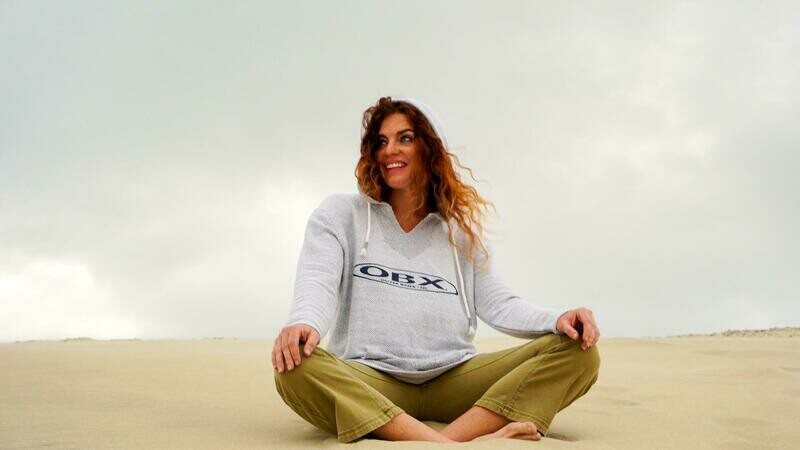 OBX Mixed Knit Baja Hoodie More Colors!