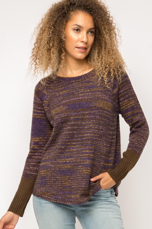 Mystree Mix Raglan Sweater