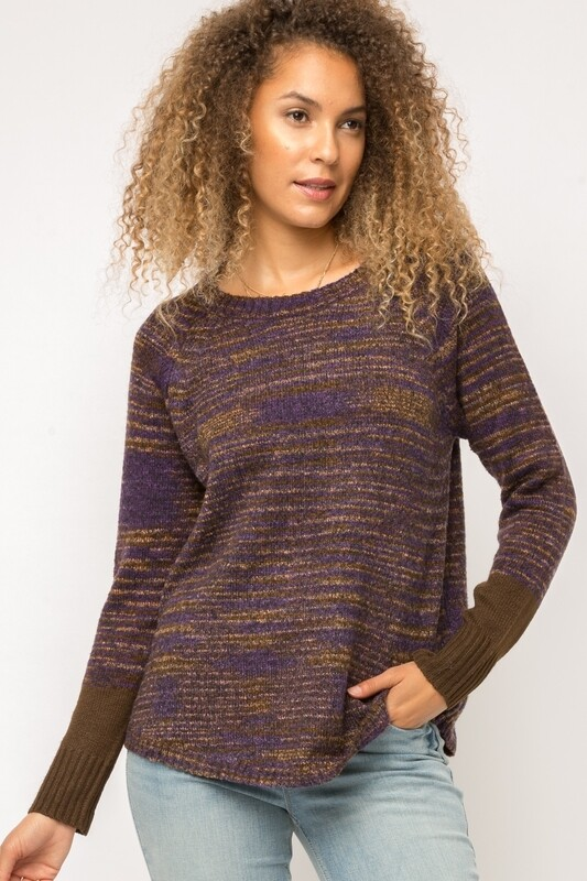 Mystree Mix Raglan Sweater