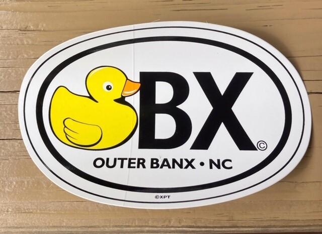 OBX Duck Sticker