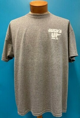 Duck'd  Up Short Sleeve Tee GREY