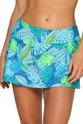 Sunsets Sporty Swim Skirt Wild Palms
