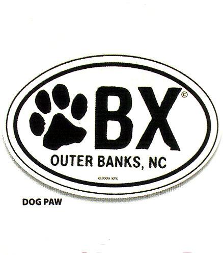 OBX Paw Sticker