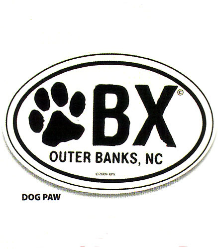 OBX Paw Magnet