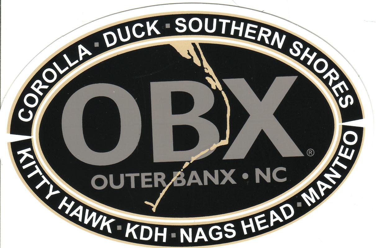 OBX Towns Sticker