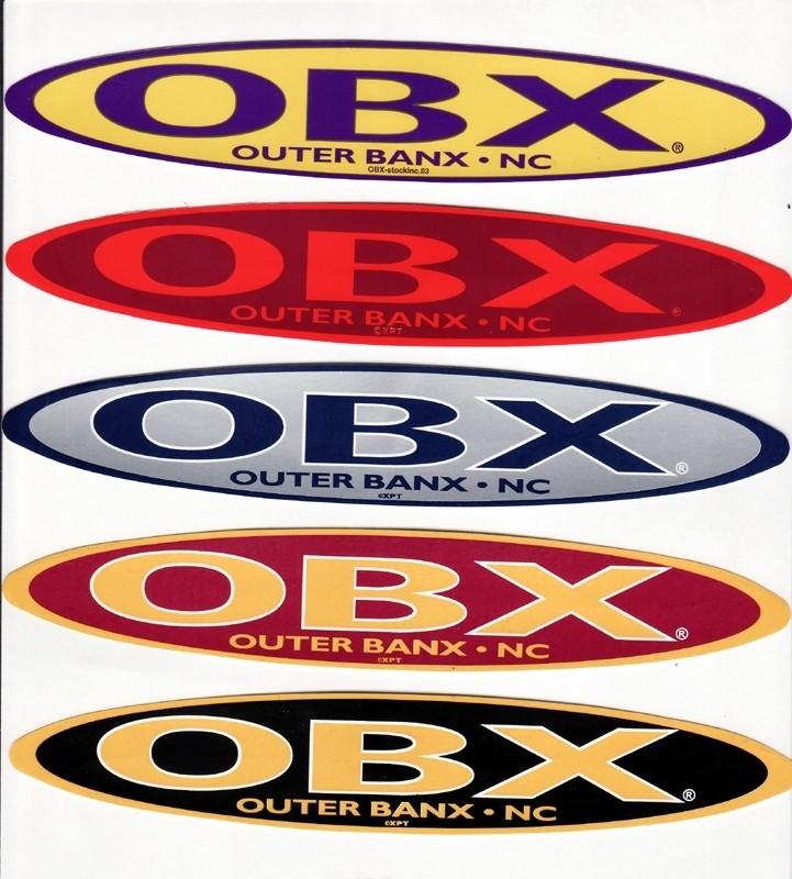 OBX Team Sticker