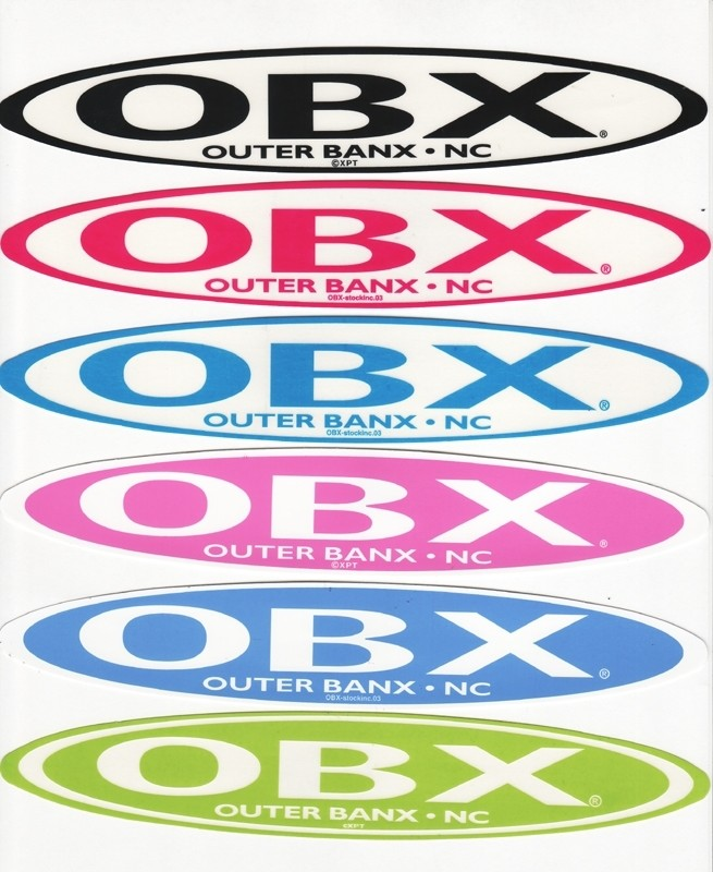 OBX Stretch Sticker