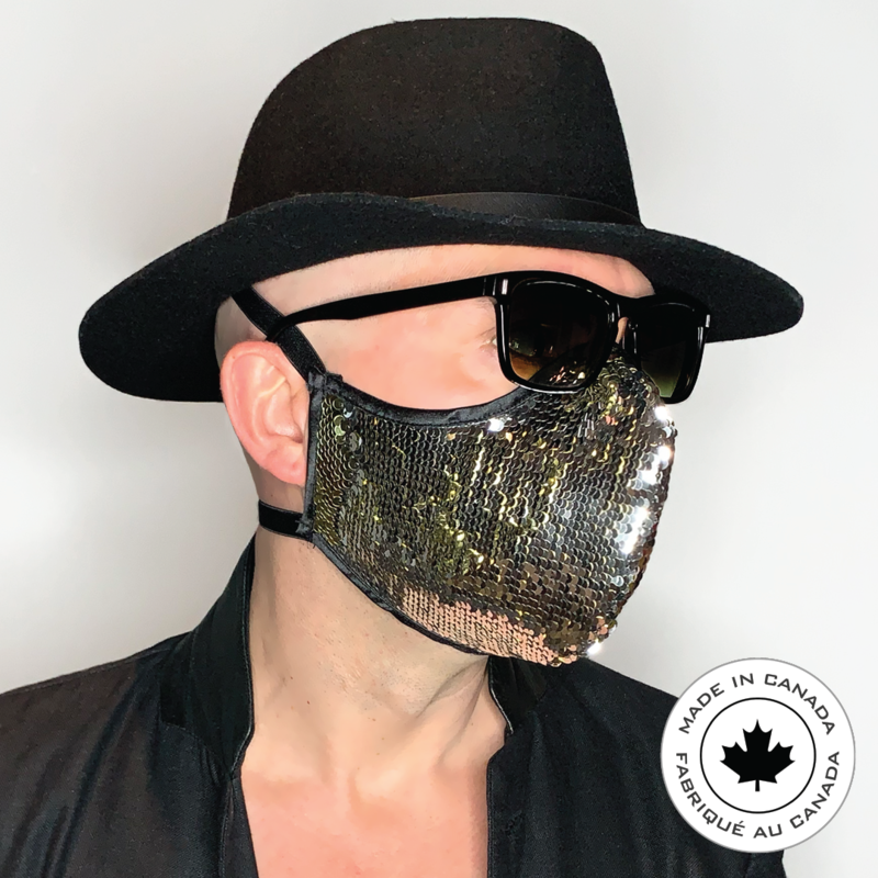 Glitter Sparkle Seriously - Pascal & Jeremie's Spectacular Fashion Sequin Mask!