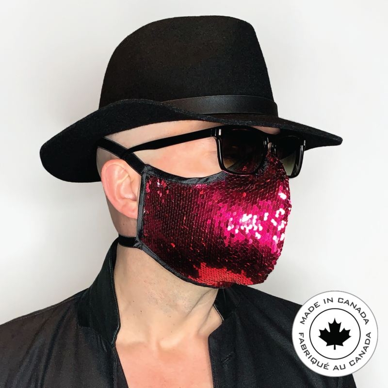 Love Life - Pascal & Jeremie's Spectacular  Fashion Sequin Mask!