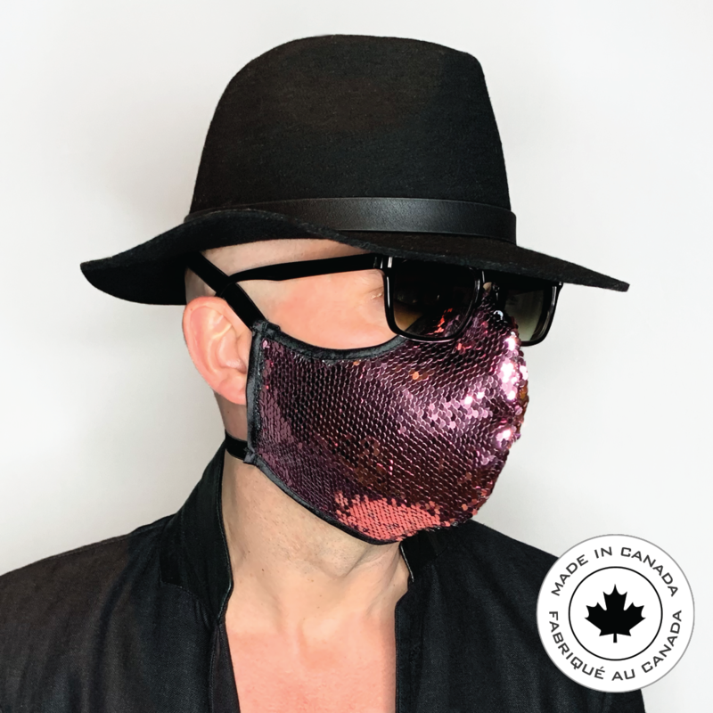 Pink Cougar - Pascal & Jeremie's Spectacular Fashion Sequin Mask!