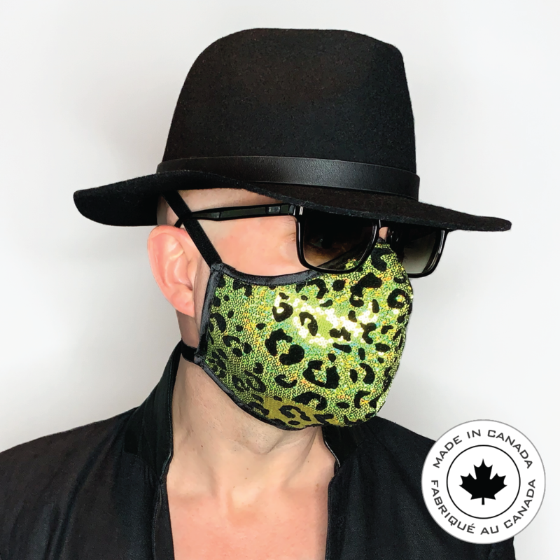 Tokyo Leopard Limited Edition - Pascal & Jeremie's Spectacular Fashion Sequin Mask!