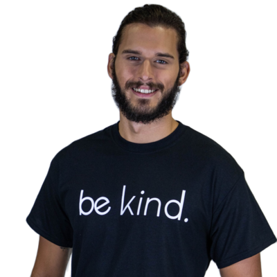 Be Kind Unisex T-Shirt Black