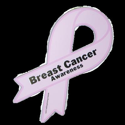 Cancer Awareness Ribbon Car Magnet