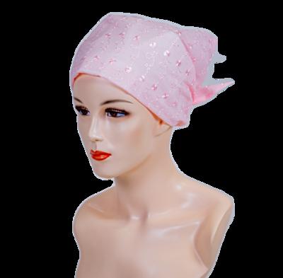 Eyelet Scarf Hat
