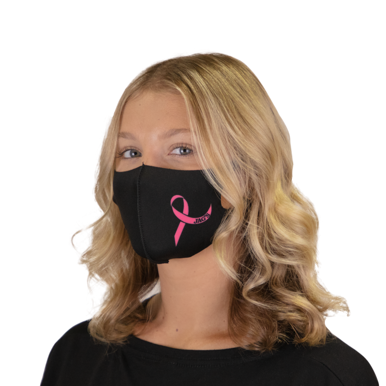 Breast Cancer Ribbon Face Mask