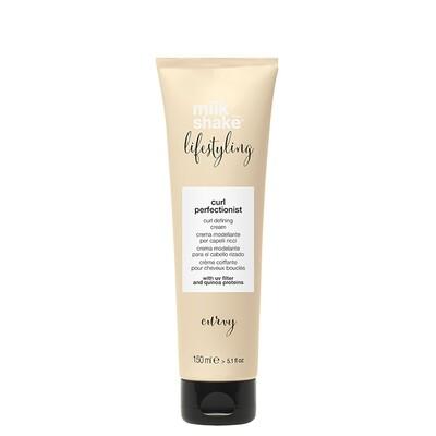 Crème Coiffante pour Cheveux Bouclés - Curl Perfectionist Lifestyling - Milk_shake