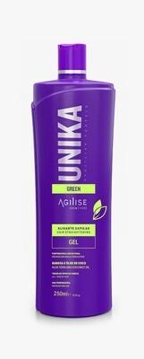Unika Green Gel - Lissage des Cheveux - 250ml - Agilise