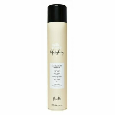 Spray Laque tenue moyenne -Lifestyling Hairspray- Milk_shake
