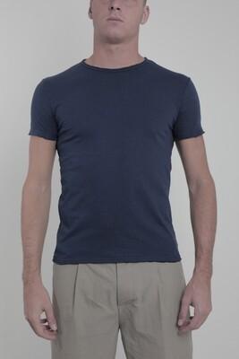Wool & Co T-shirt WO2420 indigo