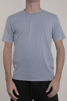 Wool & Co T-shirt WO6170 kobalt