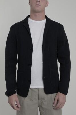 Wool & Co Vest WO6055 indigo