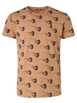No Excess T-shirt 11320307 perzik