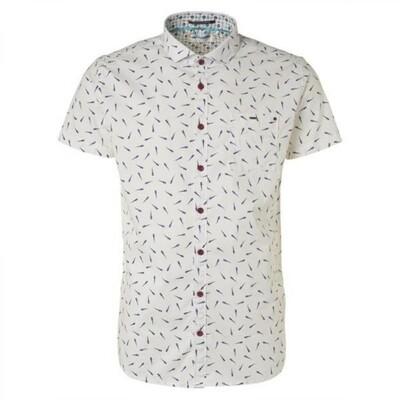 No Excess Shirt 96490504 wit